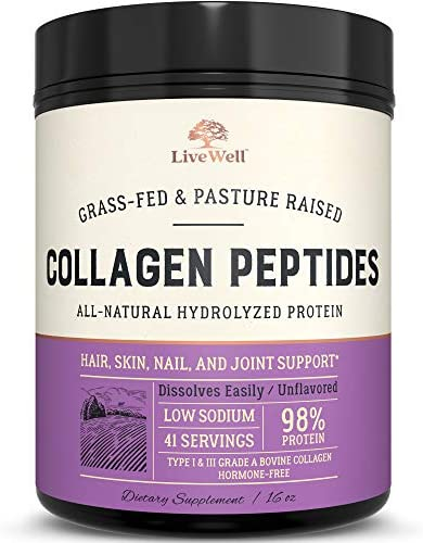 Collagen Peptides All Natural Hydrolized Servings product image