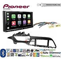 Volunteer Audio Pioneer AVH-2440NEX Double Din Radio Install Kit with Apple CarPlay, Android Auto and Bluetooth Fits 2015-2017 Hyundai Sonata
