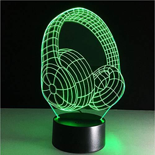 3D 3D 3D Nightlight Baby Led Lights Usb Table Lamp Acrílico Panel Escritorio Lámpara Mesa Dormitorio Iluminación 6bcc2e