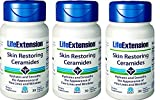 Best Ceramides - Life Extension Skin Restoring Ceramides w/Lipowheat, 30 Review