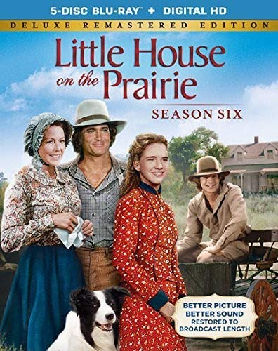 Little House On The Prairie Season 6 Deluxe Remastered Edition [Blu-ray] (Little House On The Prairie Times Of Change)
