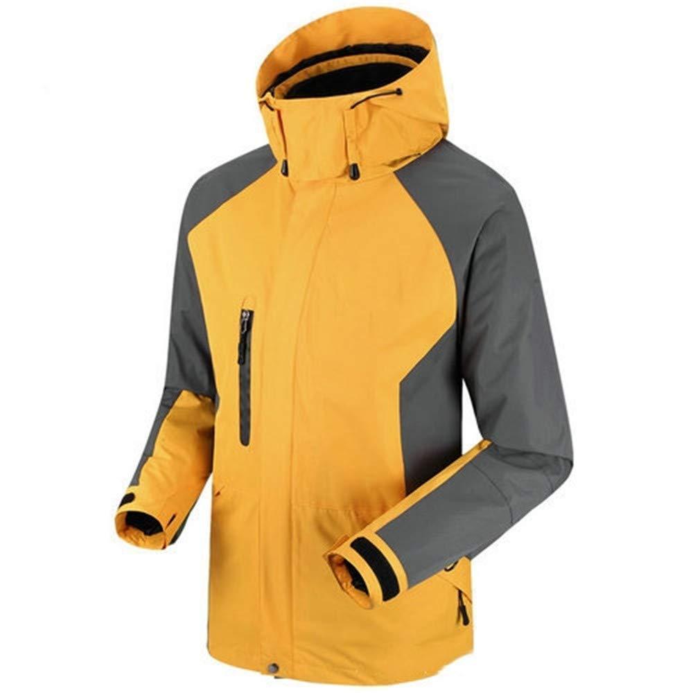 AiNaMei Herren Outdoorjacke Verdickung Fleece Skibergsteigen