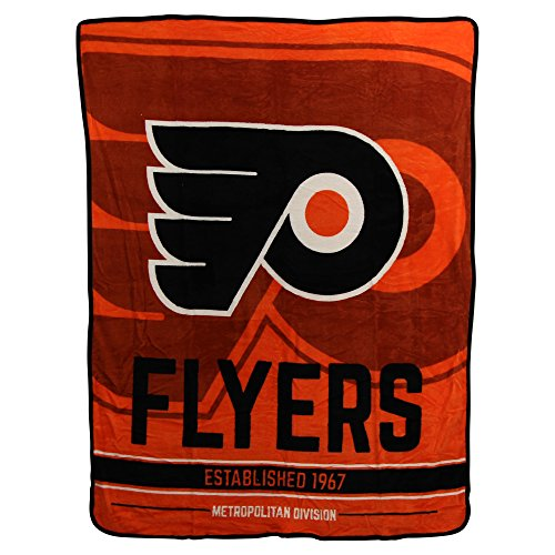 The Northwest Company NHL Breakaway Super Soft Plush Throw Blanket (Philadelphia Flyers)