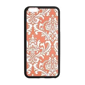 El nuevo Arrive 2015Coral damasco Vintage Floral flores color naranja Funda para iPhone 5y 5S