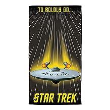Star Trek To Boldly Go Where No Man Has Gone Before Beach Towel