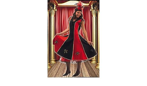 Disfraz de Cancan para Mujer: Amazon.es: Juguetes y juegos