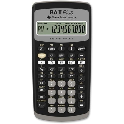 Texas Instruments BA-II Plus Advance Financial Calculator (Texas Instruments Ba Ii Plus Calculator Price)