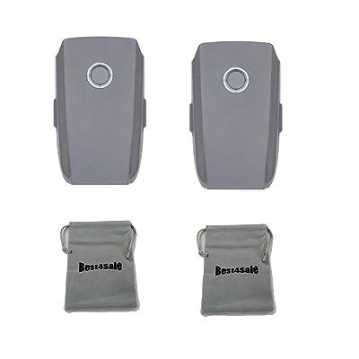 2-Pack DJI Mavic 2 Intelligent Flight Battery for Mavic 2 Zoom and Mavic 2 Pro, with Bag: Electronics