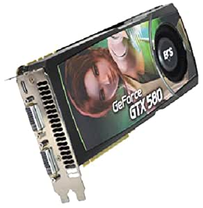 ECS GeForce GTX580 1.5GB GDDR5 PCI Express 2.0 DVI/Mini HDMI Graphics Card NGTX580-1536PI-F