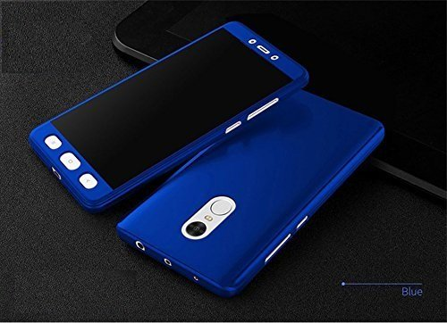 Vivo Y55 360 degree ipaky-Full Body protection (FRONT+ BACK + TEMPER Glass) Blue