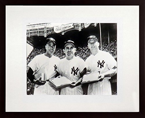 NY Yankees Legends Feat. DiMaggio, Berra & Mantle 11x14 Photograph (SGA Value Series) (Ny Yankees Legend Series)