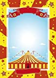 "Nice Circus - 60""H x 43""W - Peel and Stick Wall Decal by Wallmonkeys"
