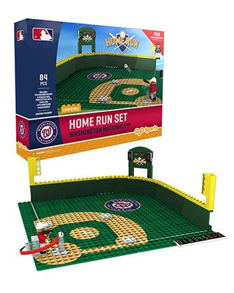 (Oyo Sportstoys MLB Washington Nationals Home Run Derby Set with Minifigure, Small, White)