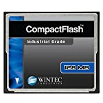 Wintec compact flash card industrial grade slc nand 1gb, black (33100001gcf) 10 industrial grade slc nand flash specialized for high-reliability 32-bit risc/dsp controller