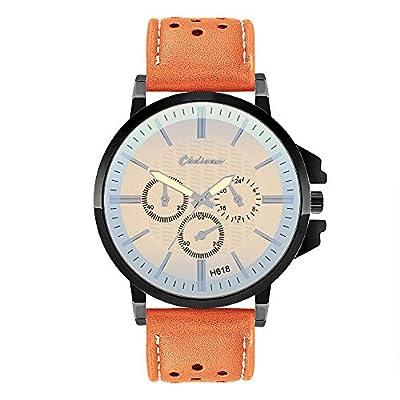Willsa Fashion Man Crystal Stainless Steel Analog Quartz Wrist Watch