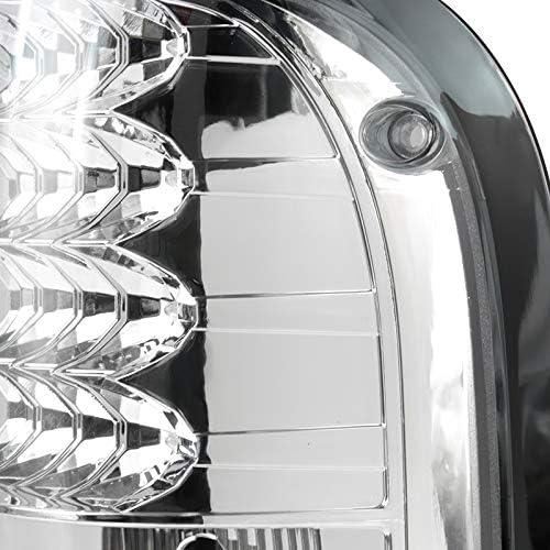 SPEC-D TUNING LT-RAN06CLED-TM Chrome Tail Light Led