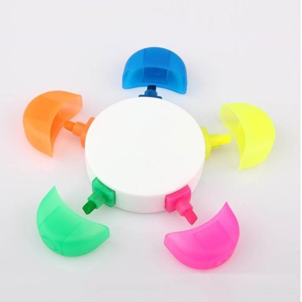 Cute Stationery For Kids Novelty Supplies Sun Flower Highlighter Pen Markers