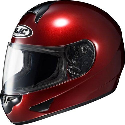 HJC Helmets CL-16 Helmet (Wine, XX-Large)