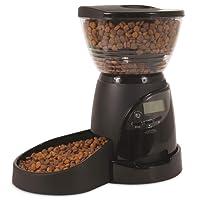 PETMATE 24232 Aspen Pet LeBistro - Alimentador de Mascotas con Control Programable de Porciones, Negro, 5 libras