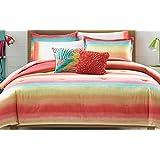 Teen Vogue Electric Beach Comforter Set, Full/Queen
