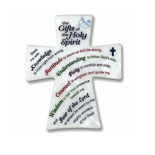 Abbey Gift Gifts of the Holy Spirit Plaque