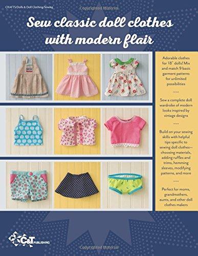 Doll Days! Sew an Everyday Wardrobe for 18'' Dolls: Stylish Patterns to Mix, Match & Embellish