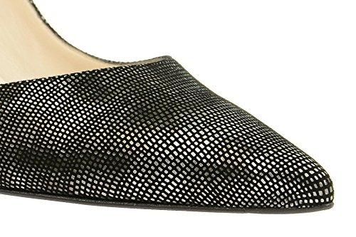 Peter KaiserPeter Kaiser Serana Sling Pumps schwarz silber - Zapatos con correa de tobillo Mujer Negro - negro