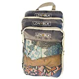 Best Compression Packing Cubes - Compact Packing Cubes For Travel - Set of Review