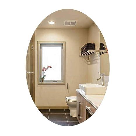 Bathroom mirror Grande Specchio Ovale Semplice - Specchi da toeletta ...