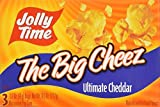 jolly time the big cheese - Jolly Time the Big Cheez Cheddar Cheese Microwave Popcorn, 3-count Boxes (Pack of 3) by Jolly Time