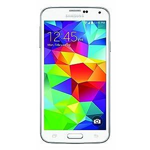 Samsung Galaxy S5 G900V 16GB Verizon / GSM Smartphone w/ 16MP Camera, White (Certified Refurbished)