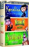 3 DVD Koralina-Norman a duchove-Skatulaci (3 DVD Coraline-Paranorman-The Boxtrolls)