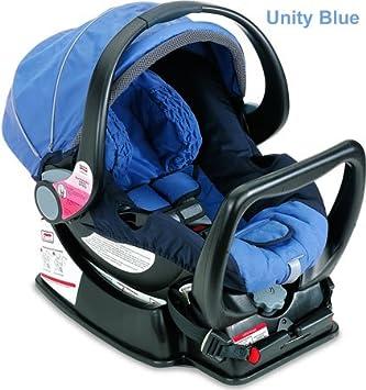 amazon com britax companion infant car seat unity blue rear rh amazon com Britax Marathon Car Seat Britax B-Agile Car Seat