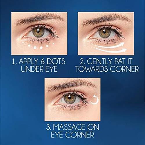 Antialterung Augencreme Tränensäcke Entfernen, Augencreme, Eye Cream Augen Zur Reparatur von Feuchtigkeits Spendendem MiMiey (2PC, Brown)