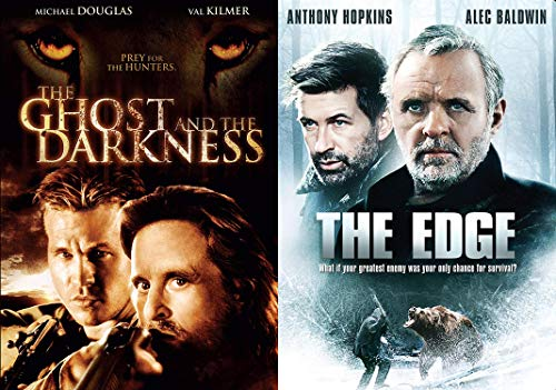 Man Vs Nature Vs Epic Beasts: The Ghost And The Darkness & The Edge 2-DVD Animal Action Collection