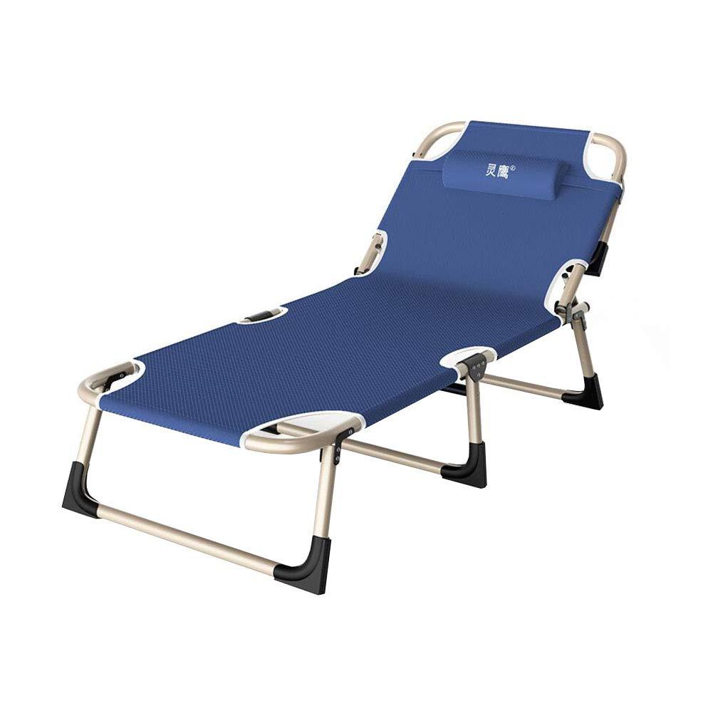 Dall Campingbett Klappbett Camping Bett Schlafen Faltbar Draussen Bewegliches Bett Tragbar (Farbe   T01)