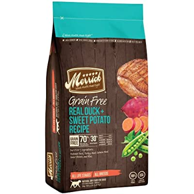 Merrick GF Duck + Sweet Potato Recipe Dry Dog Food
