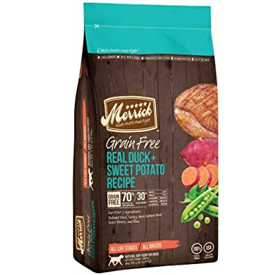 Merrick GF Duck + Sweet Potato Recipe Dry Dog Food