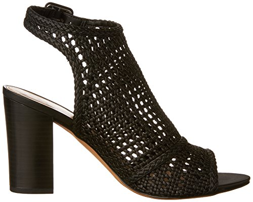 Edelman Evie Sam Sandals Fashion Black Women's dTxqxWwHEA