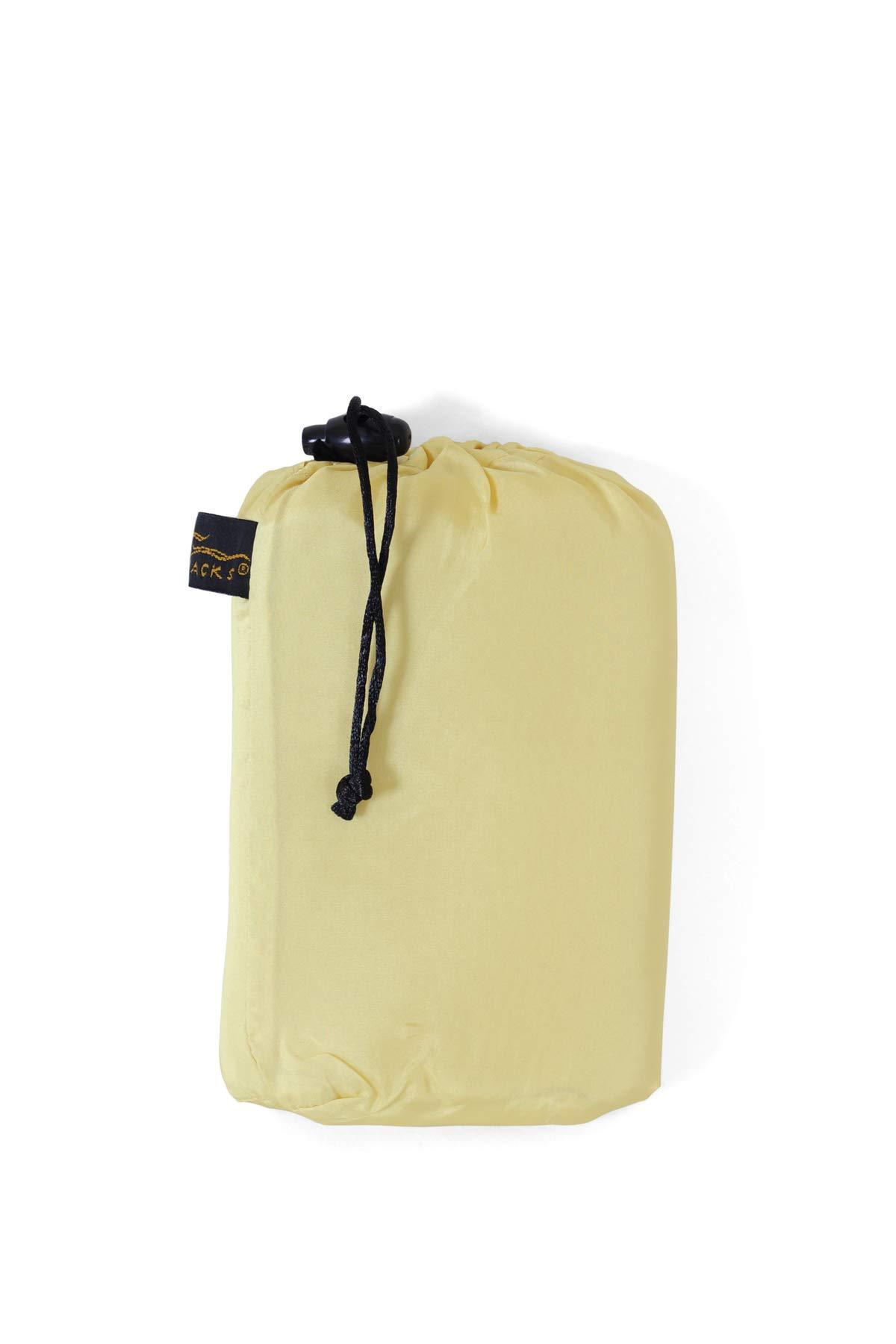 Travel DreamSack Original Opening Silk Sheet Color: Honey