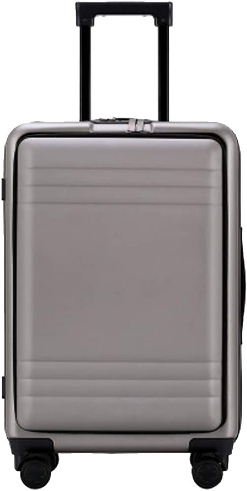 YSZG Multi-Function Trolley case Large Capacity with Mezzanine Travel Bag, Universal Wheel Business Suitcase
