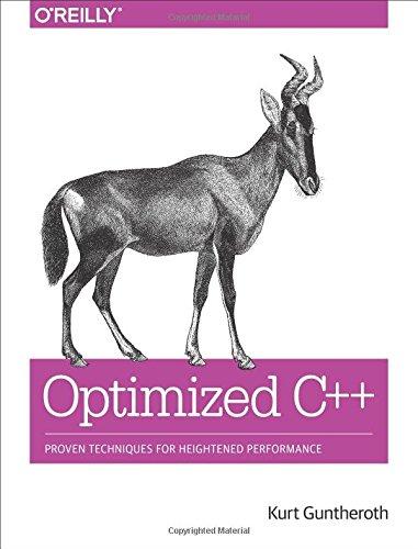 Optimized C++ ISBN-13 9781491922064