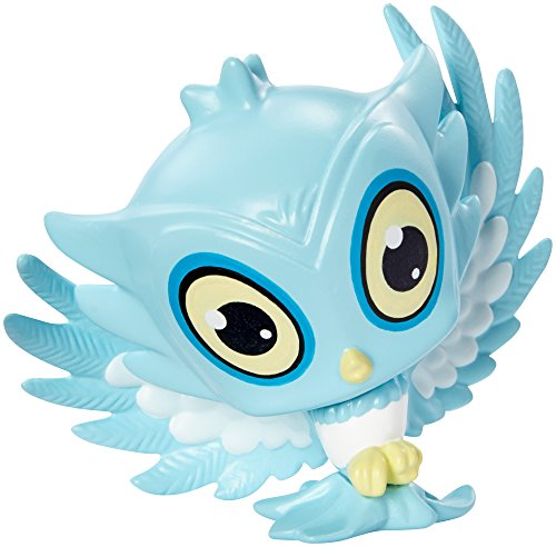 Monster High Sir Hoots-A-Lot Figure (Monster High Ghoulia Yelps Doll With Pet Owl)