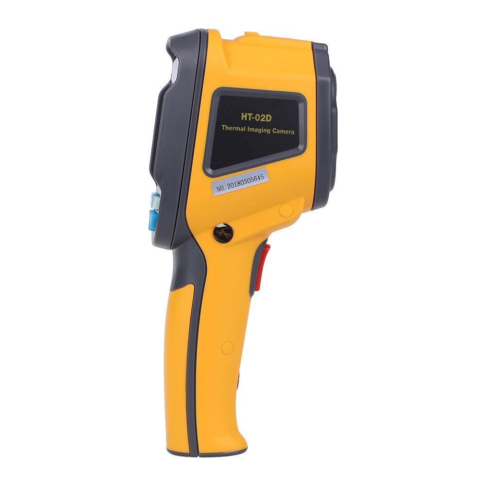 EECOO HT-02 Termocamere Termografica Portatile a 2,4 Colori Display 1024 Pixels 60 60 Risoluzione Termocamera IR Termometro a Temperatura Pistola Termocamera a Infrarossi