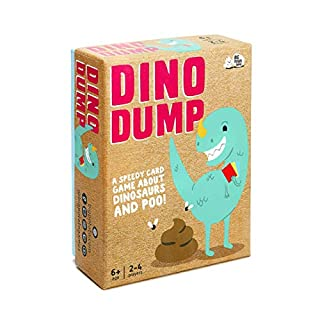 Dino Dump: Dinosaur Poop Board Game for Kids Aged 6+