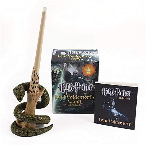 Harry Potter Voldemort S Wand With Sticker Kit Lights Up