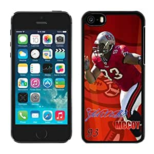 NFL Tampa Bay Buccaneers iPhone 5C Case 044 NFL Iphone 5C Case by kobestar
