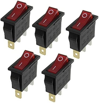 amazon com rocker switches electrical equipment sports outdoors rh amazon com