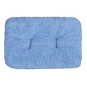 Ularma Caseta Perro Interior almohadas para perros sofá cama para perro gato Pet Animales (Azul)