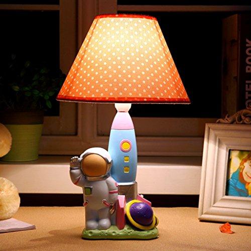 Kindertischlampe Schlafzimmer Nachttischlampe kreative nette Karikatur-Tischlampe Augen - Schutz Nacht